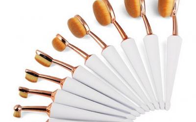 Set de Pinceau Coupe Parapluie  Ovale.  Révision